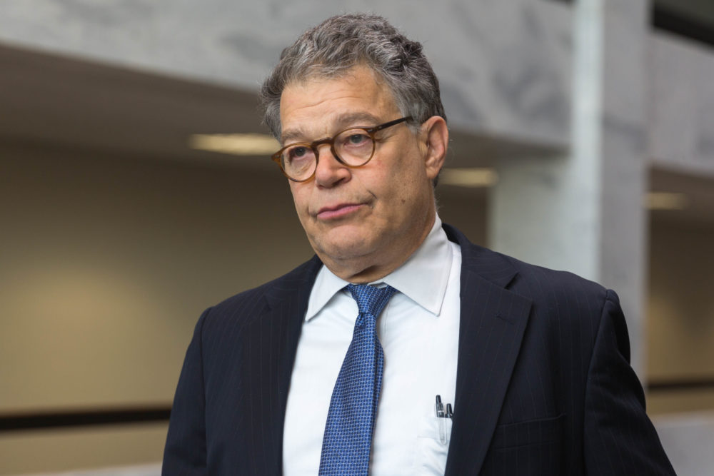 Senate Ethics Panel Opens Preliminary Inquiry Into Franken Amid Allegations