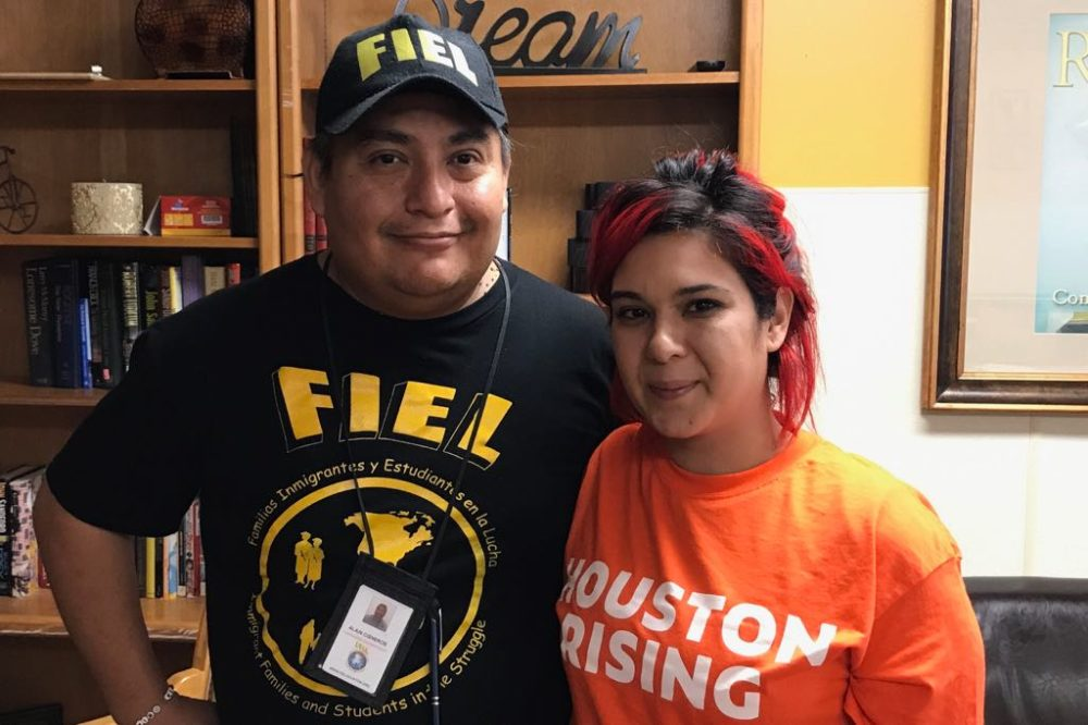 Jennifer Pena isn't confident. She cleans houses but lost 60 percent of her business because of Harvey.