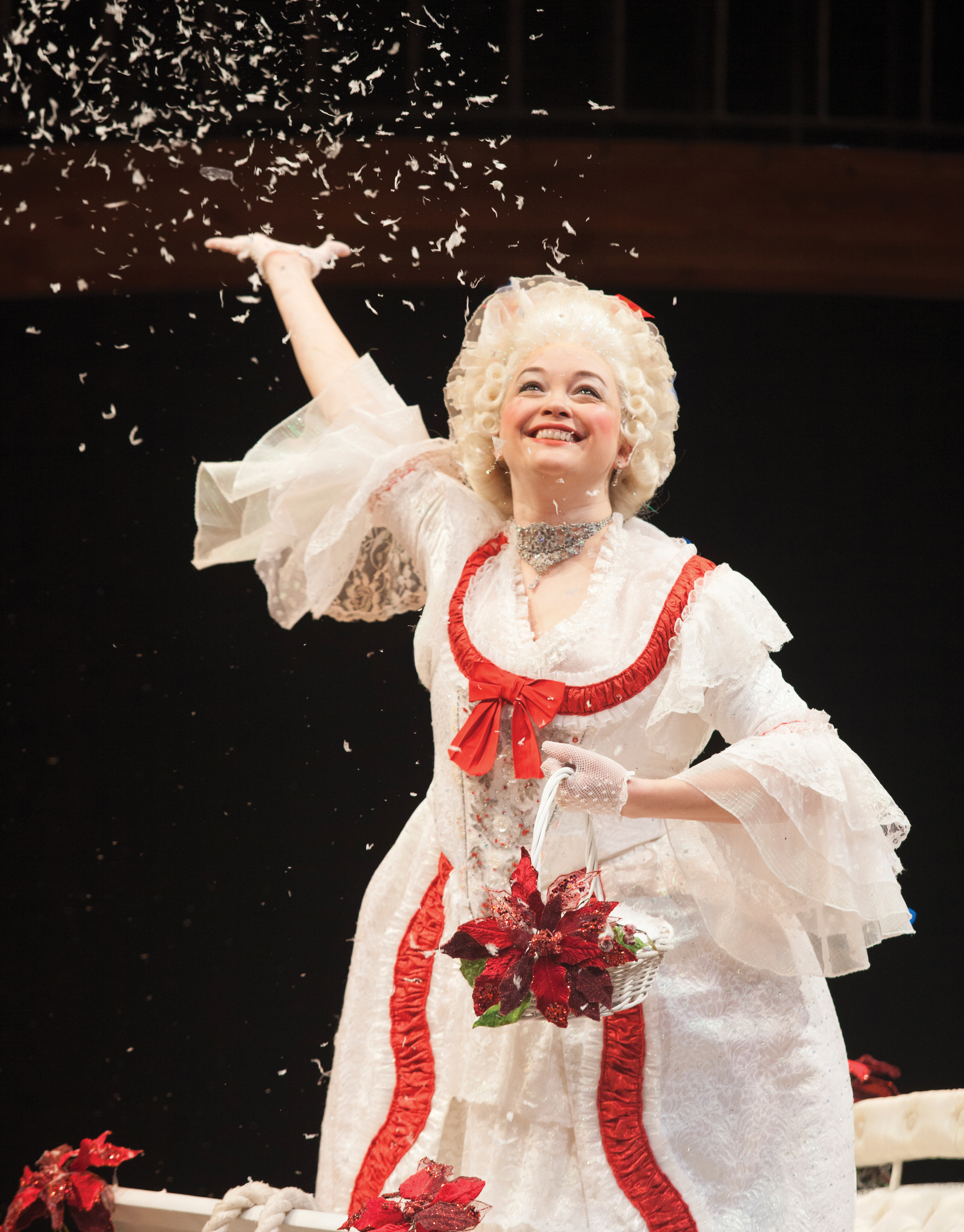Spirit Of Christmas Past Costume.The Alley Theatre Returns Home For The Holidays With A