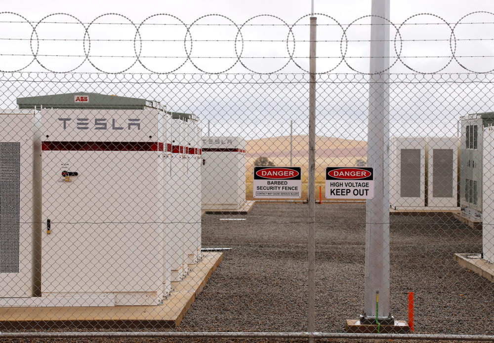 Tesla Flips Switch on World's Largest Lithium Ion Battery in Australia