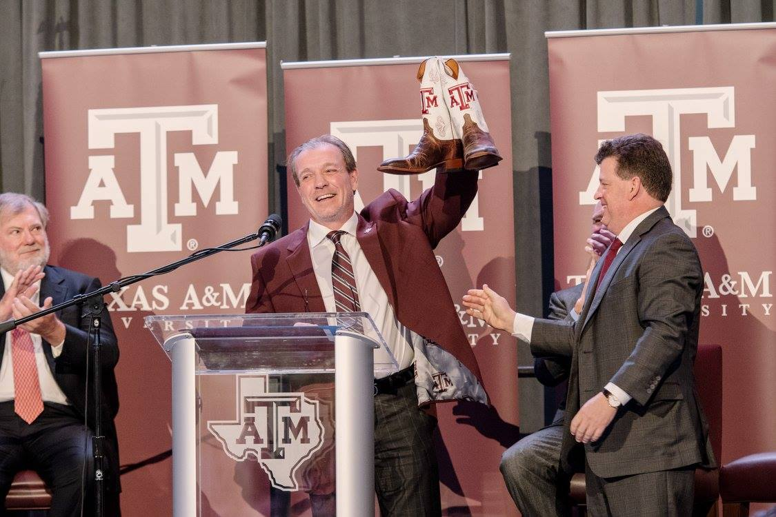 Texas A&M Guaranteed $75 Million To Its New Football Coach. How Can It Afford That?   Houston Public Media