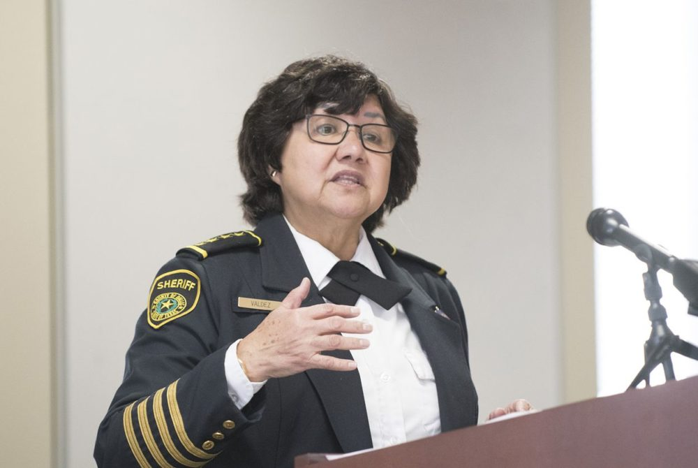Dallas Sheriff Lupe Valdez to run for governor; announcement today in Austin