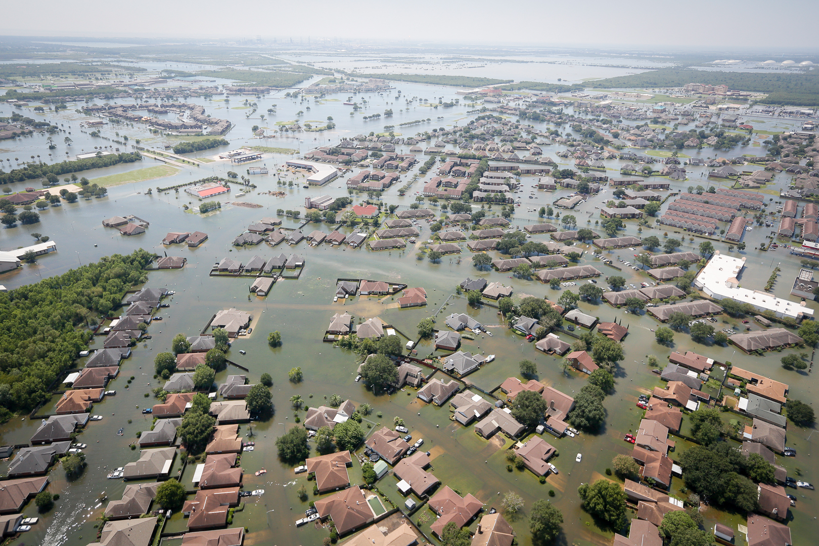 Harvey was the first of three monster storms to hit the United States in 2017.