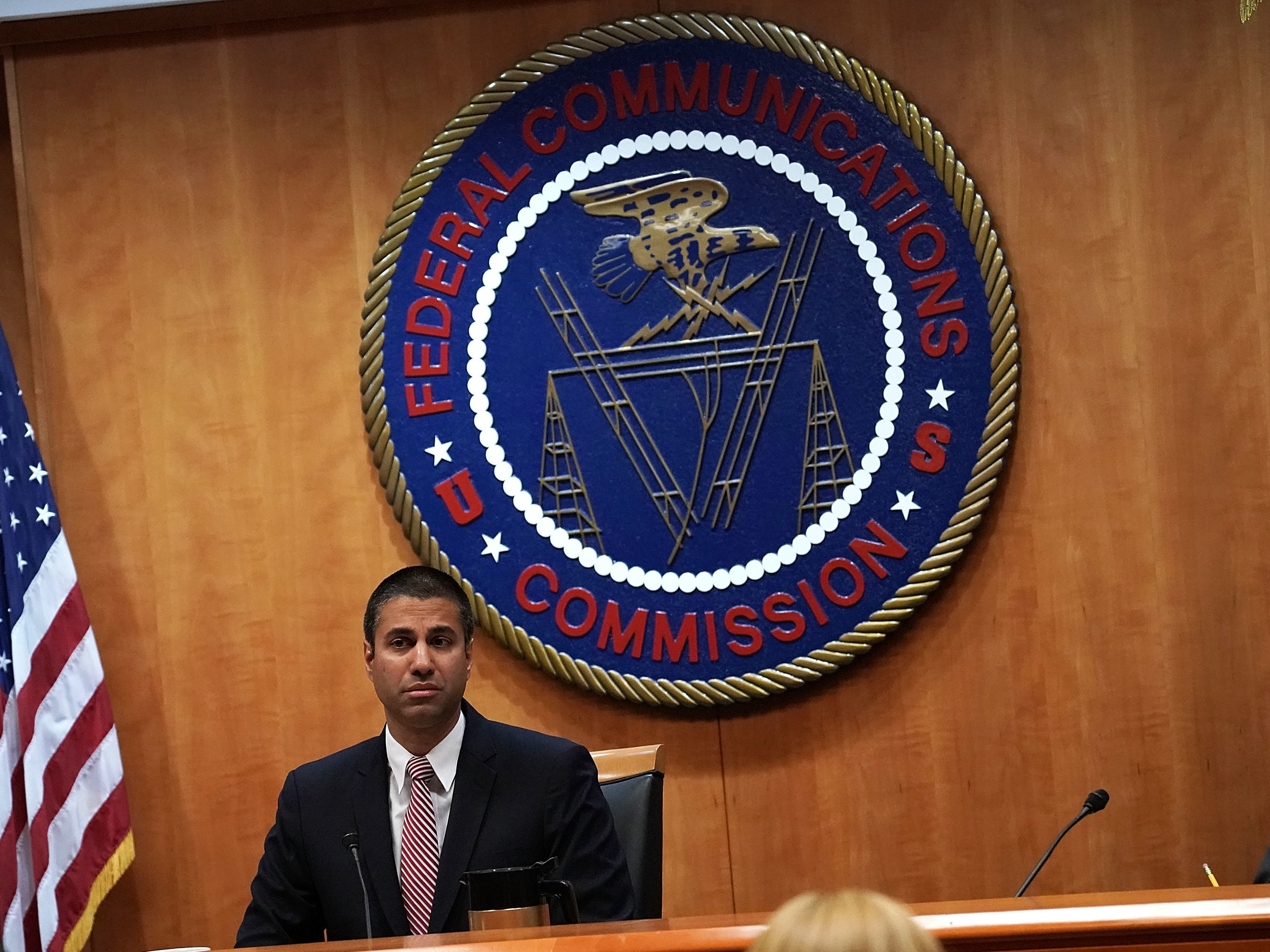 Federal Communications Commission Chairman Ajit Pai led a vote to repeal Obama-era