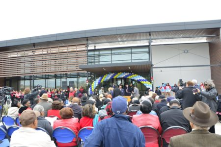 The new HPD police station for southwest Houston is located at the 13000 block of Nitida Street and its grand opening took place on December 15, 2017.