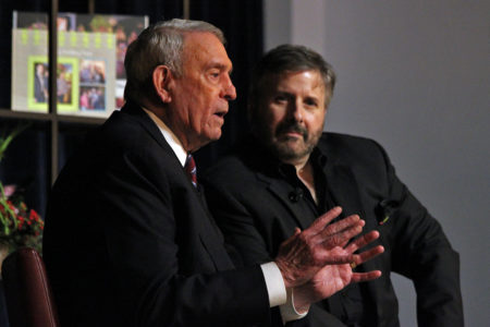 Dan Rather and Ernie Manouse