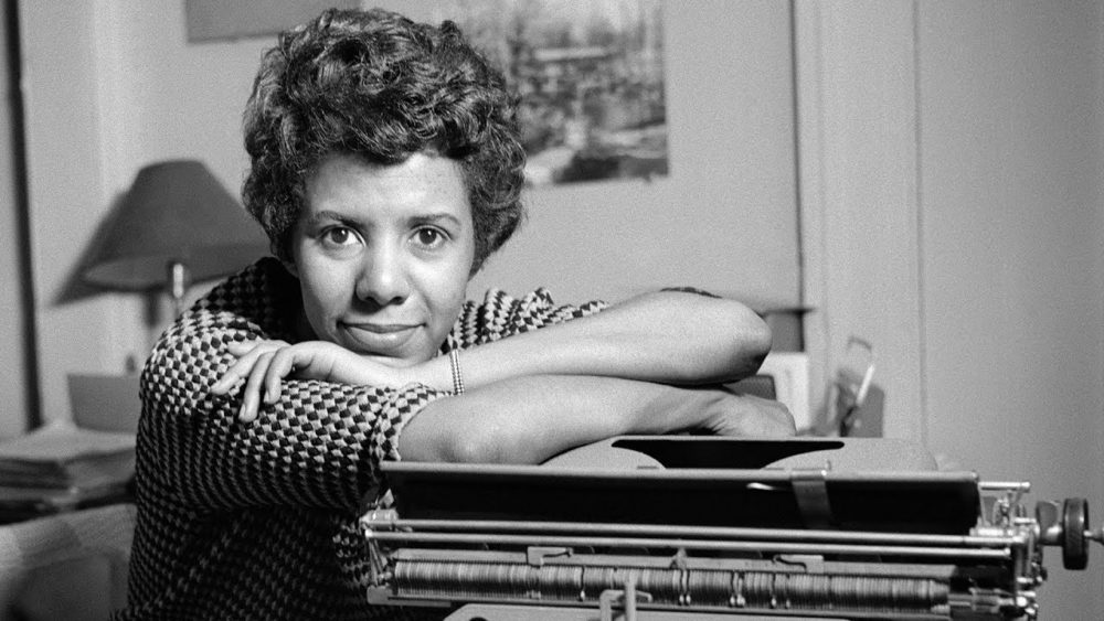 Playwright Lorraine Hansberry