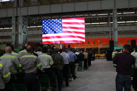 New Pipe Mill Near Houston Promises American 'Manufacturing