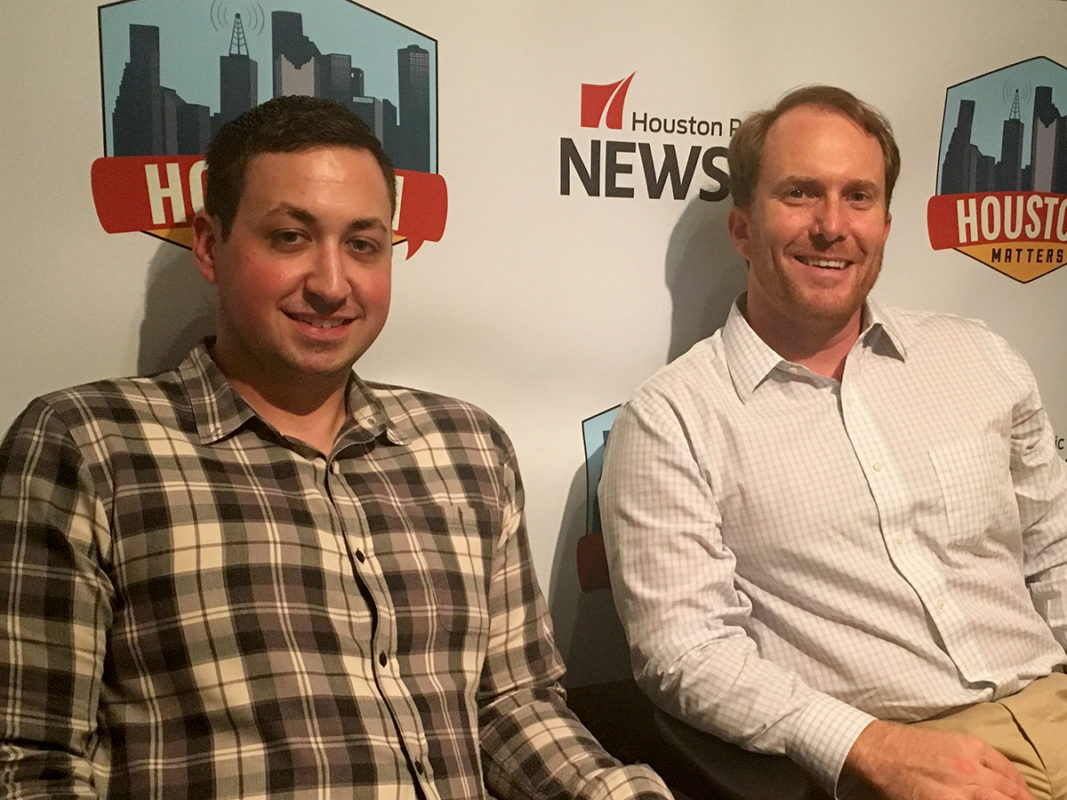 Jake Kaplan and Brian T. Smith of the Houston Chronicle