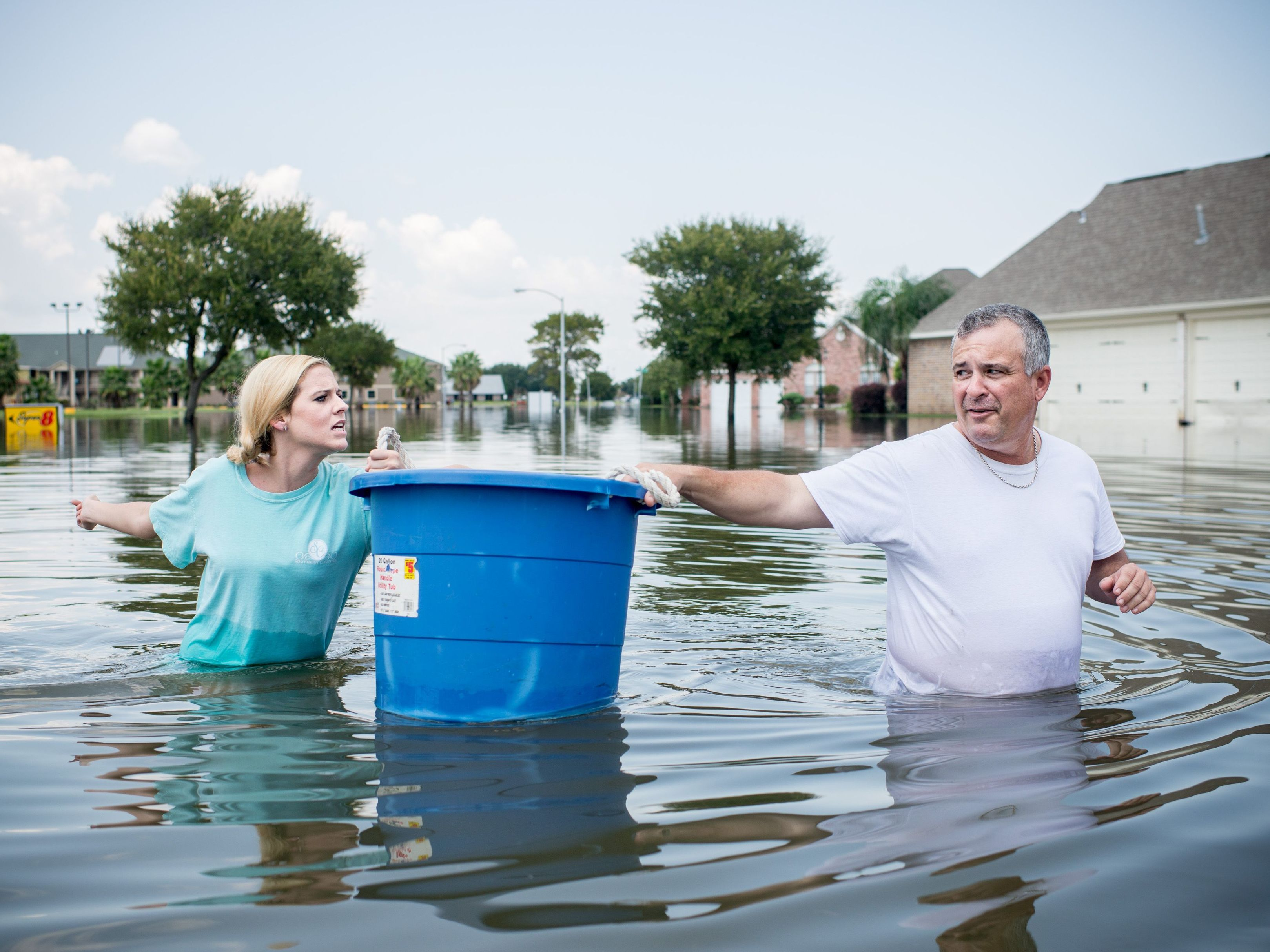 Hurricane Harvey put vast swaths of Texas under water. Elsewhere, fires, tornadoes and extreme weather caused hundreds of billions in damages.