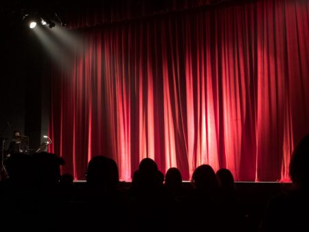 Stage Curtain Performance - Pexels