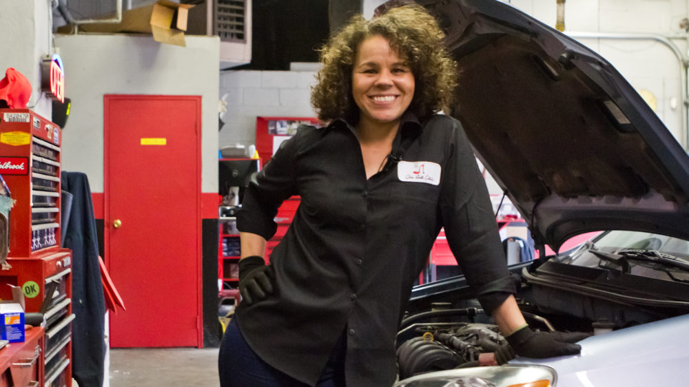 Girls Auto Clinic Owner I Couldn T Find A Female
