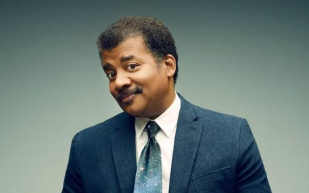 Astrophysicist and television host Neil deGrasse Tyson.