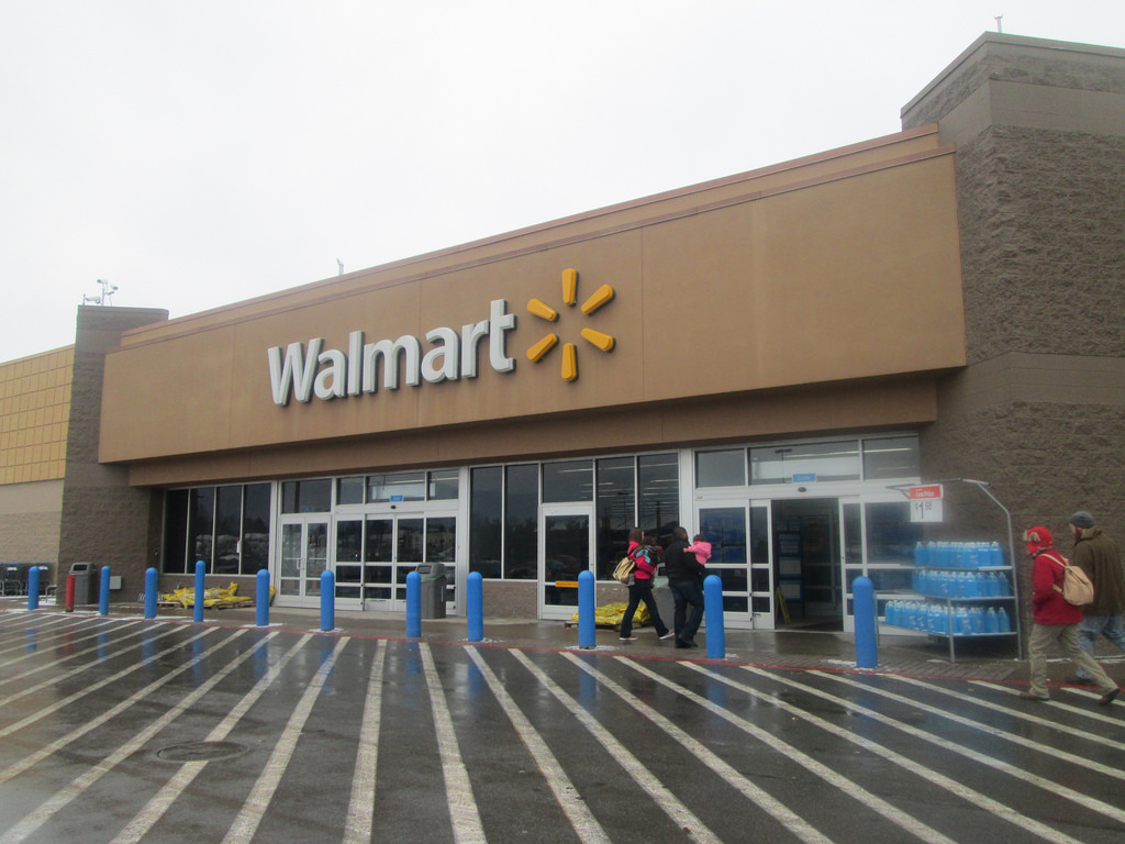 Walmart said its decision came after the company reviewed its firearm sales policy in light of the mass shooting at Marjory Stoneman Douglas High School in Parkland, Florida, that killed 17 people.