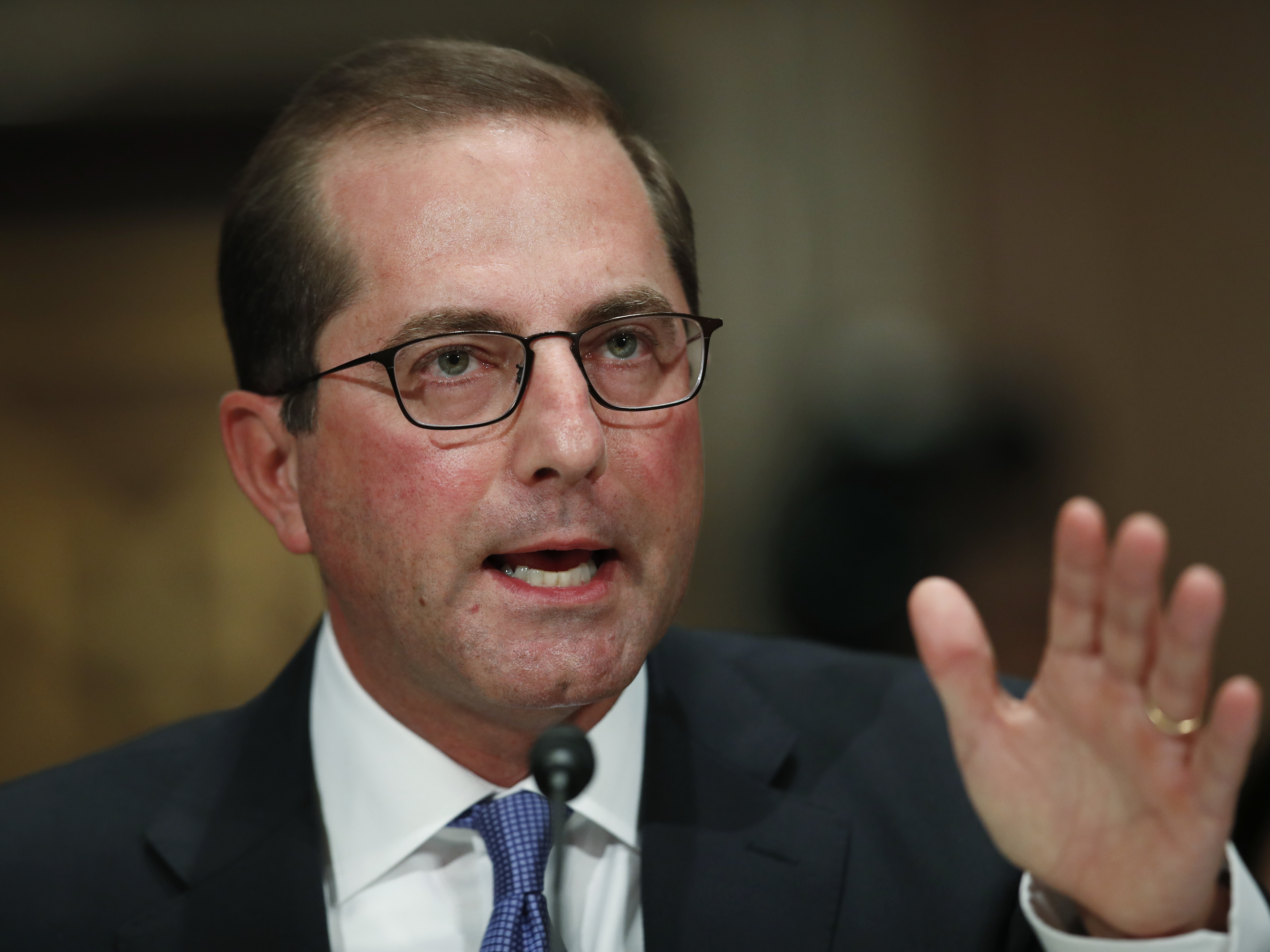 The Senate has confirmed Alex Azar, President Trump's nominee to become Secretary of Health and Human Services.