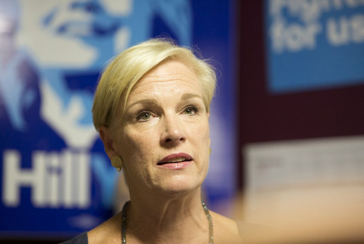Planned Parenthood Federation of America President Cecile Richards speaks to reporters at a Hillary Clinton campaign office in Austin on Sept. 9, 2016.