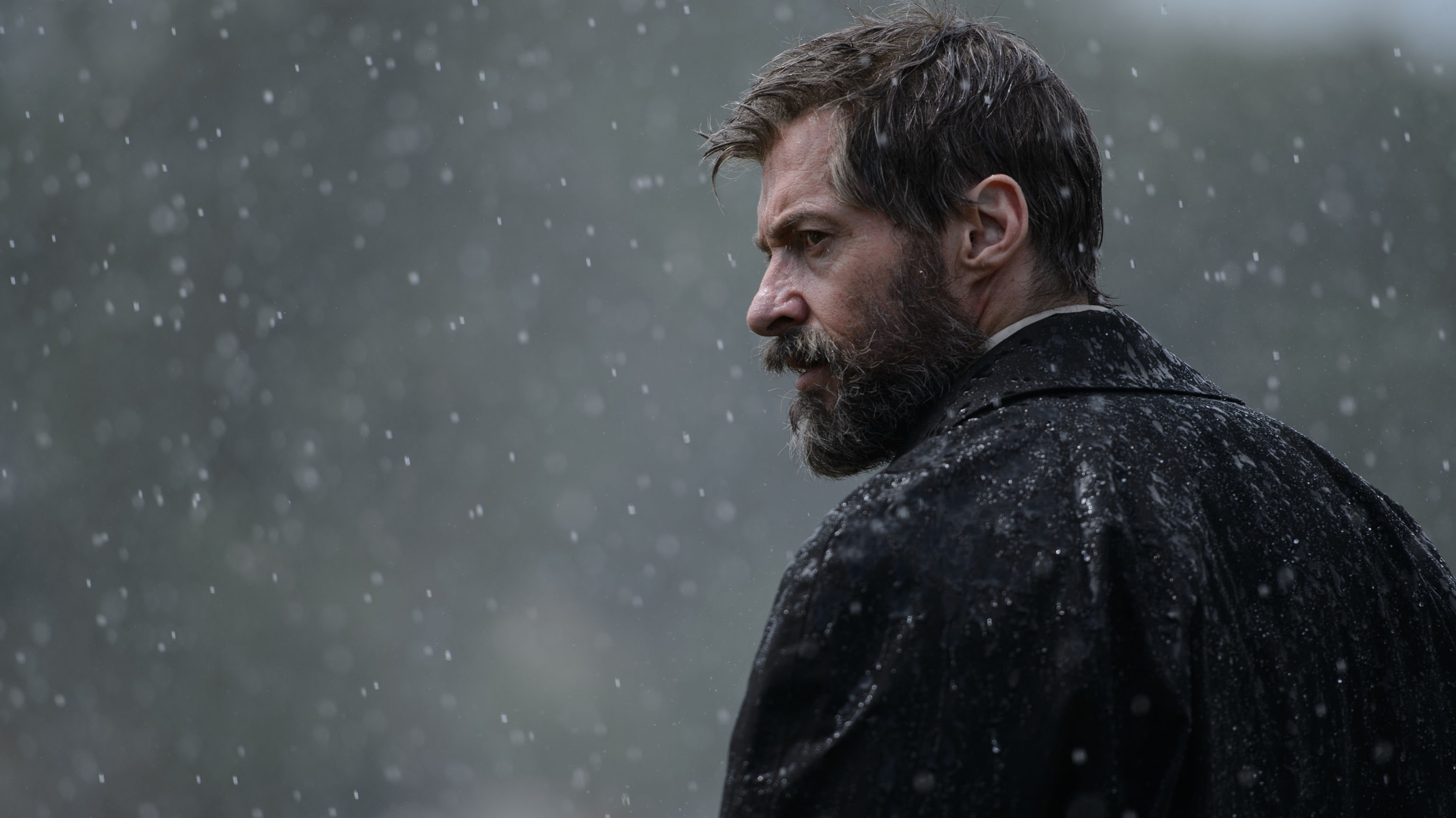From Fastball Special to Early Bird Special: In <em>Logan</em>, Hugh Jackman plays a long-in-the-tooth Wolverine.