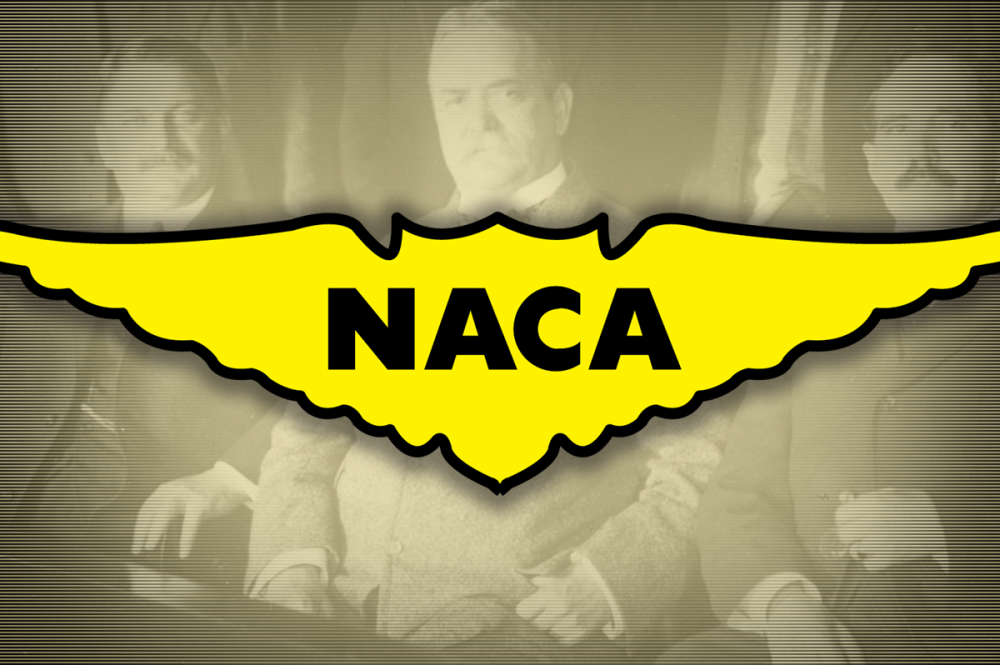 National Advisory Committee for Aeronautics (NACA) Logo