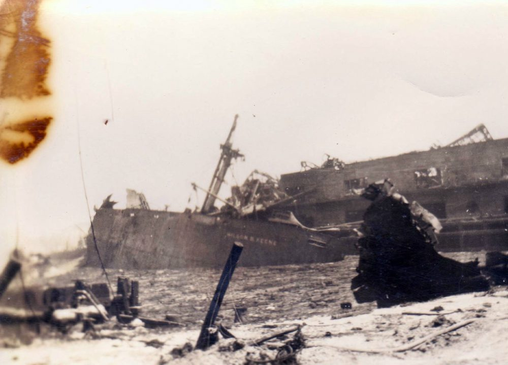 Texas City Disaster - Damaged Ships
