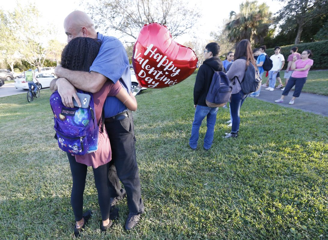 Image result for images; shooting; broward county; parkland school wounded; injured; florida