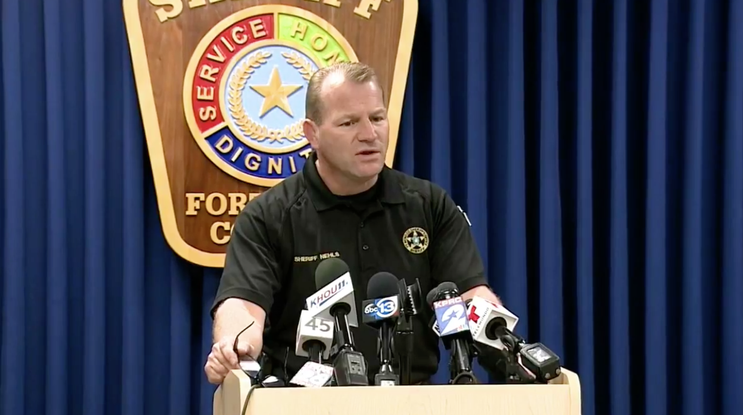 Fort Bend County Sheriff Troy Nehls said two threats were made at two Fort Bend ISD schools.