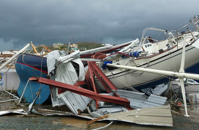 Hurricane Irma Damage in US Virgin Islands