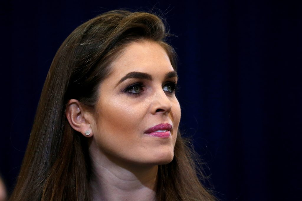The news comes a day after Hicks was interviewed for nine hours by the panel investigating Russia interference in the 2016 election and contact between Trump's campaign and Russia.