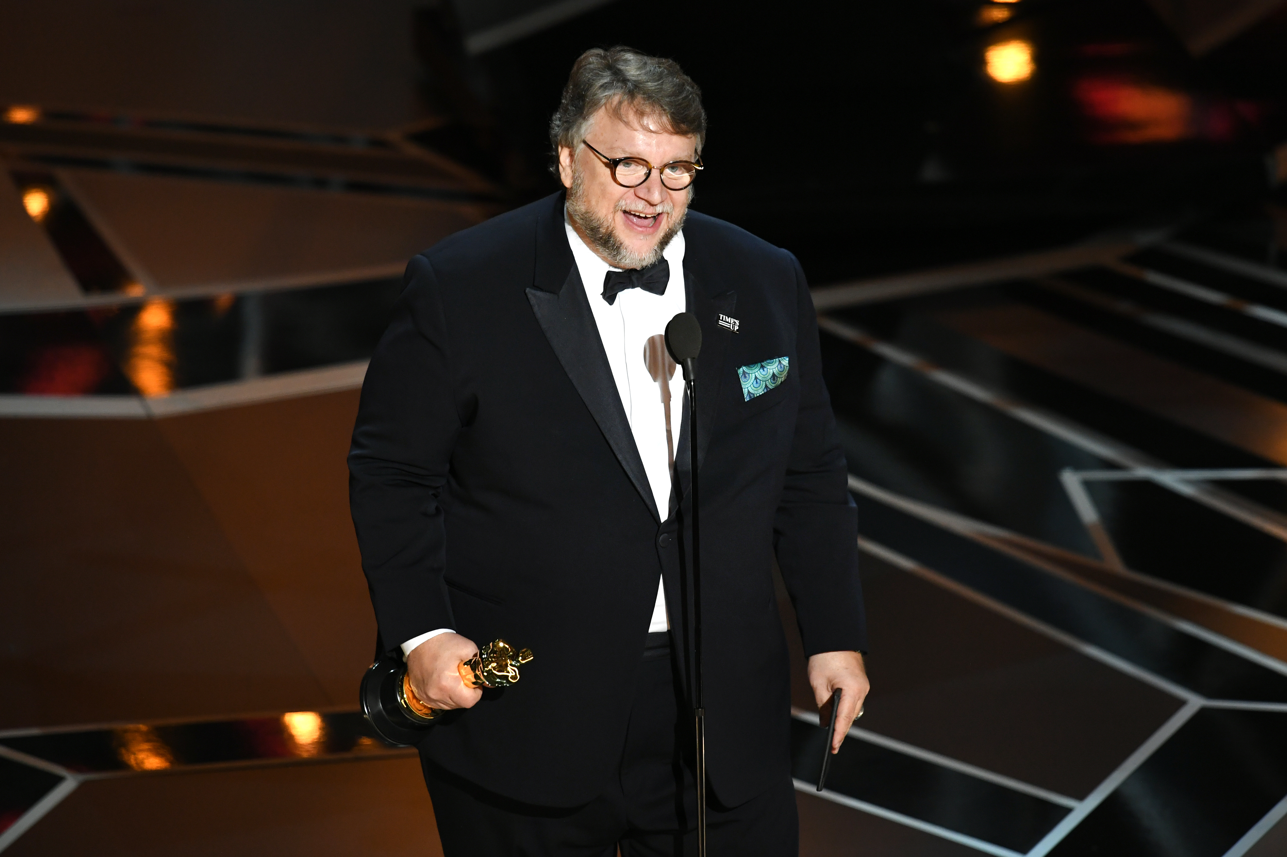 Director Guillermo del Toro's The Shape of Water won best director and best picture at the 90th Academy Awards.