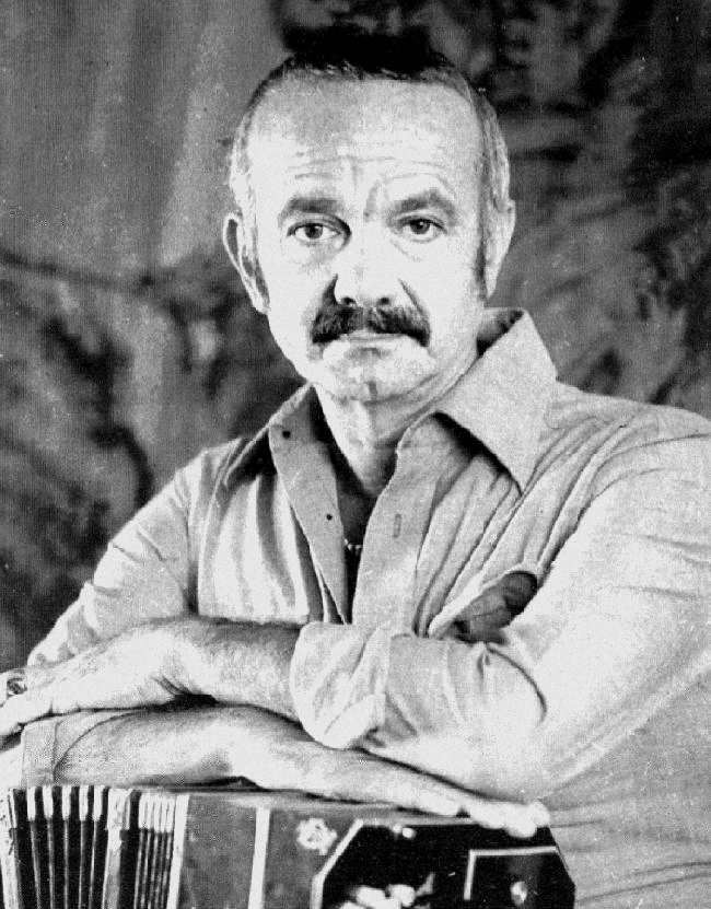 Astor Piazzolla with Bandoneon