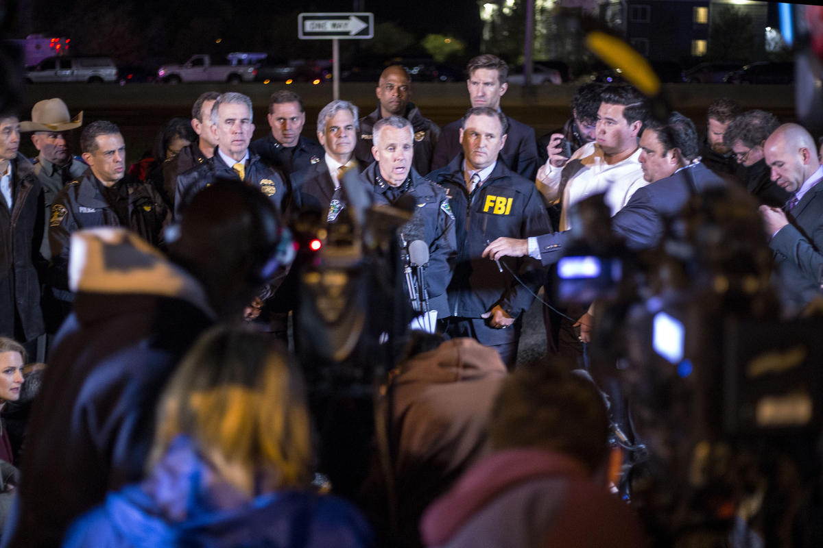 Interim Austin Police Chief Brian Manley says a suspect in the Austin bombings detonated an explosive in his vehicle in Round Rock this morning.
