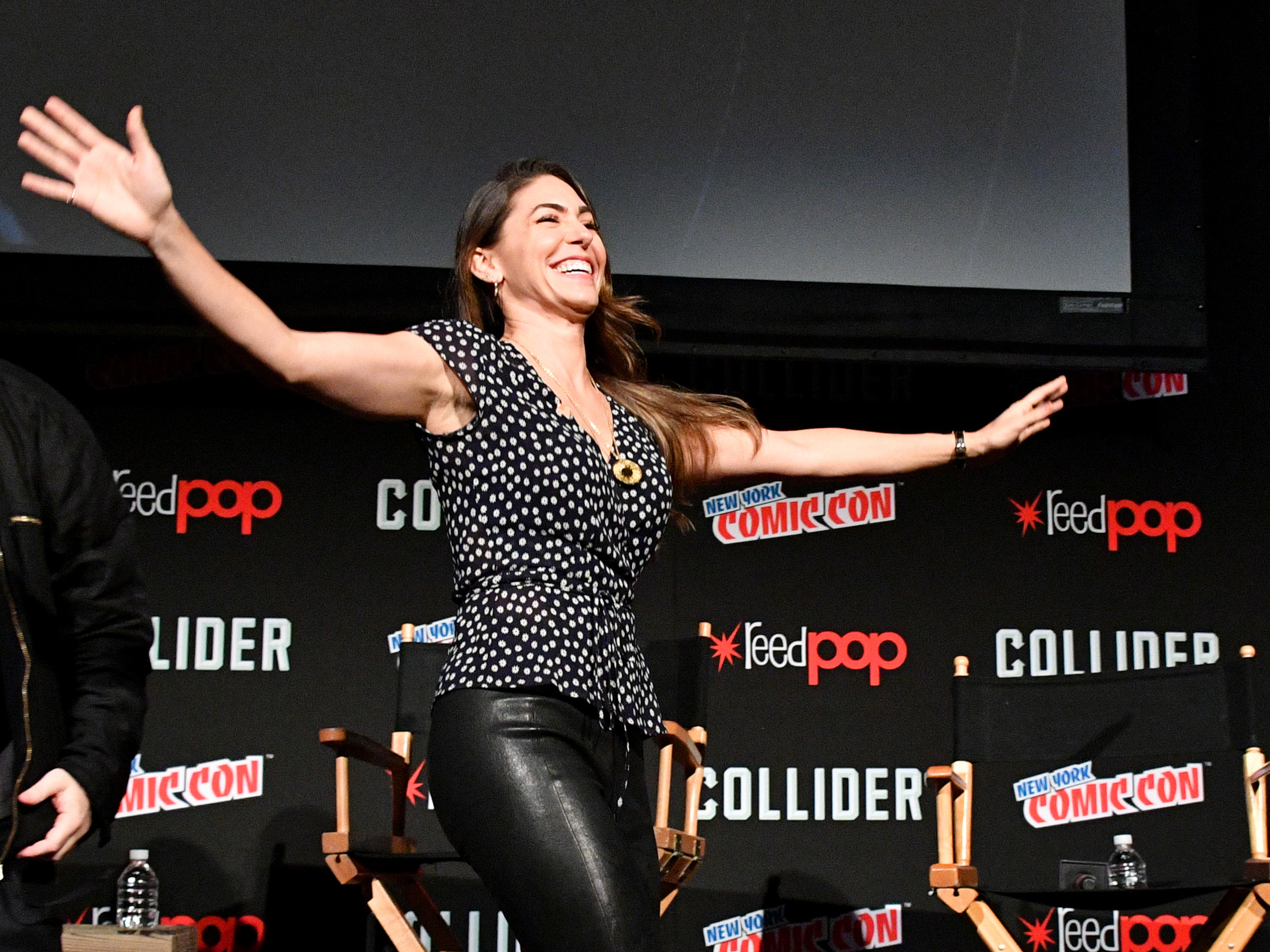 Actress Natalia Cordova-Buckley, shown here during New York Comic Con last October, has defended her fellow actresses: