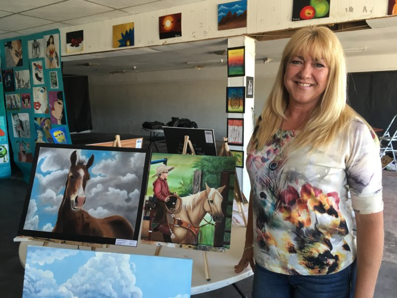 """""""If anything it's going to make me more alert, more wary, more concerned,"""" says Presidio Art Teacher Laurie Holman about the news of a National Guard presence on the border."""