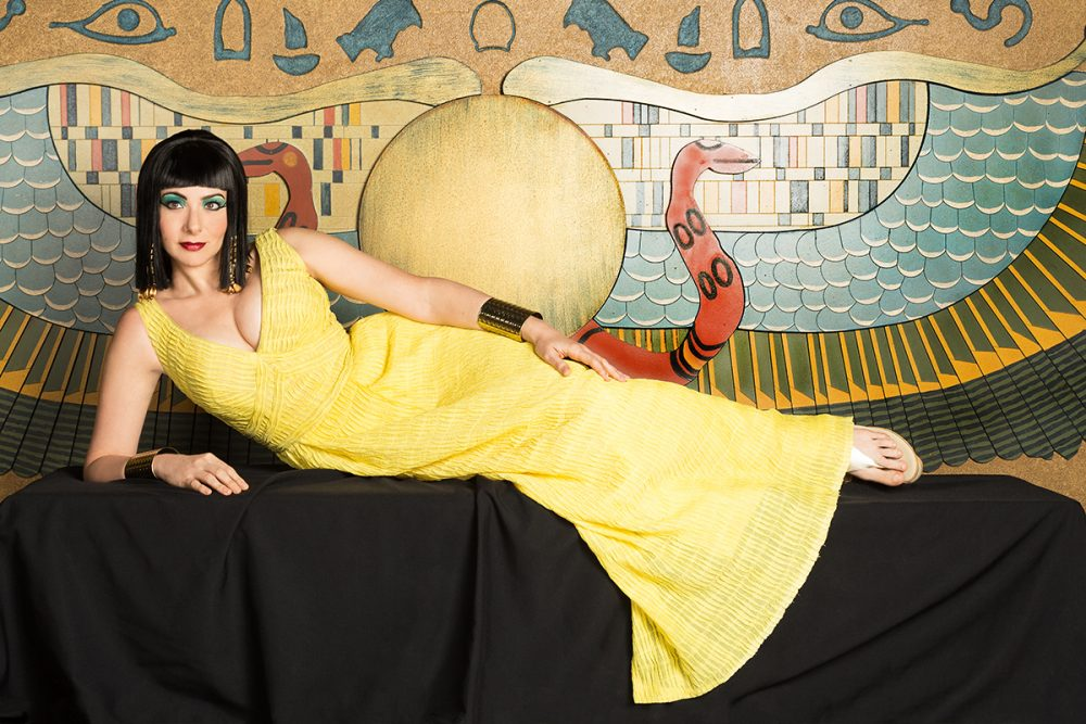 Lisa Birnbaum as Cleopatra