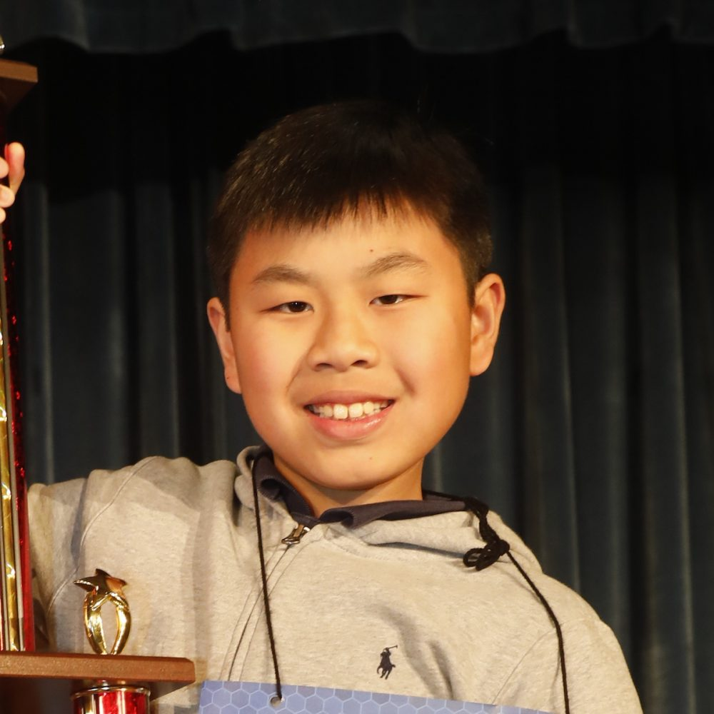 Benjamin Chen, 2018 Houston Public Media Spelling Bee Runner Up