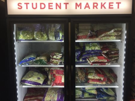Since it opened in January 2018, the student market at Texas Woman's University provides about 80 students - mostly in graduate programs - with 60 pounds of food a month.