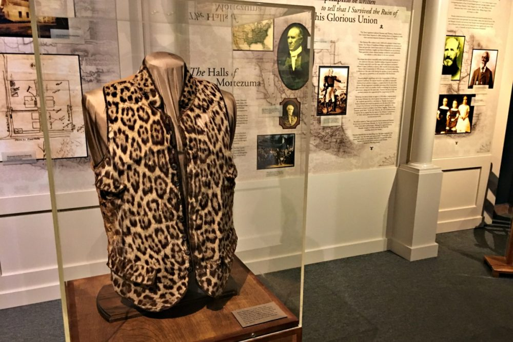 Sam Houston's Leopard-Print Vest
