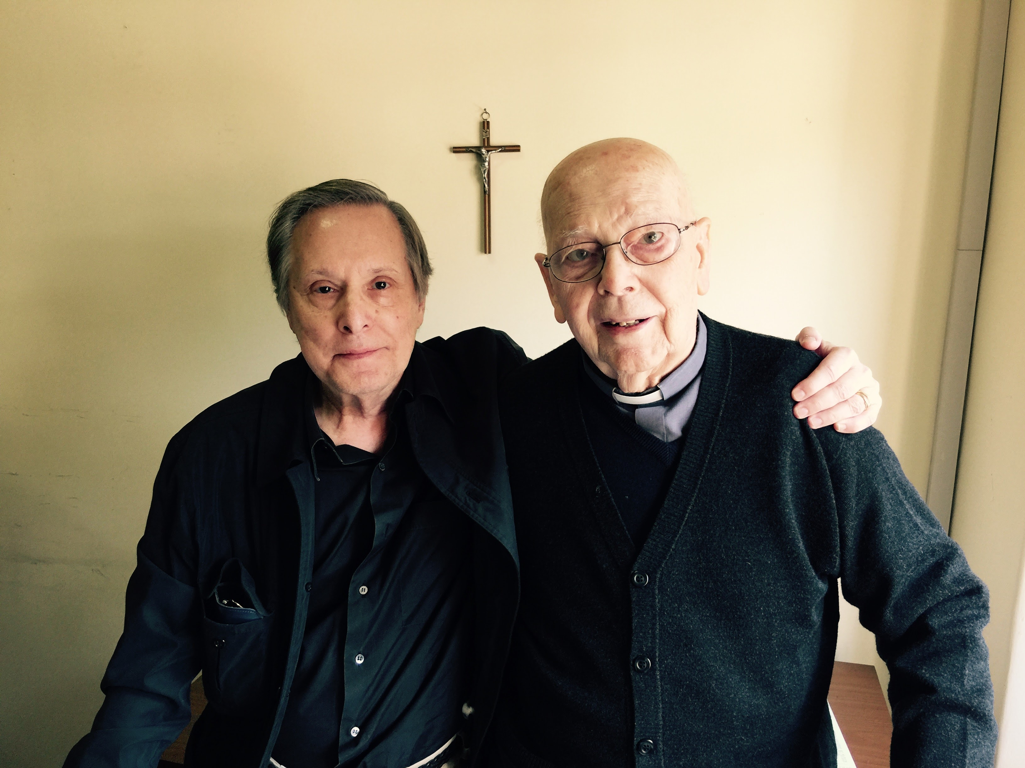 The new documentary by William Friedkin (left) centers around footage of an exorcism performed by Rev. Gabriele Amorth (right), who has performed the procedure tens of thousands of times.