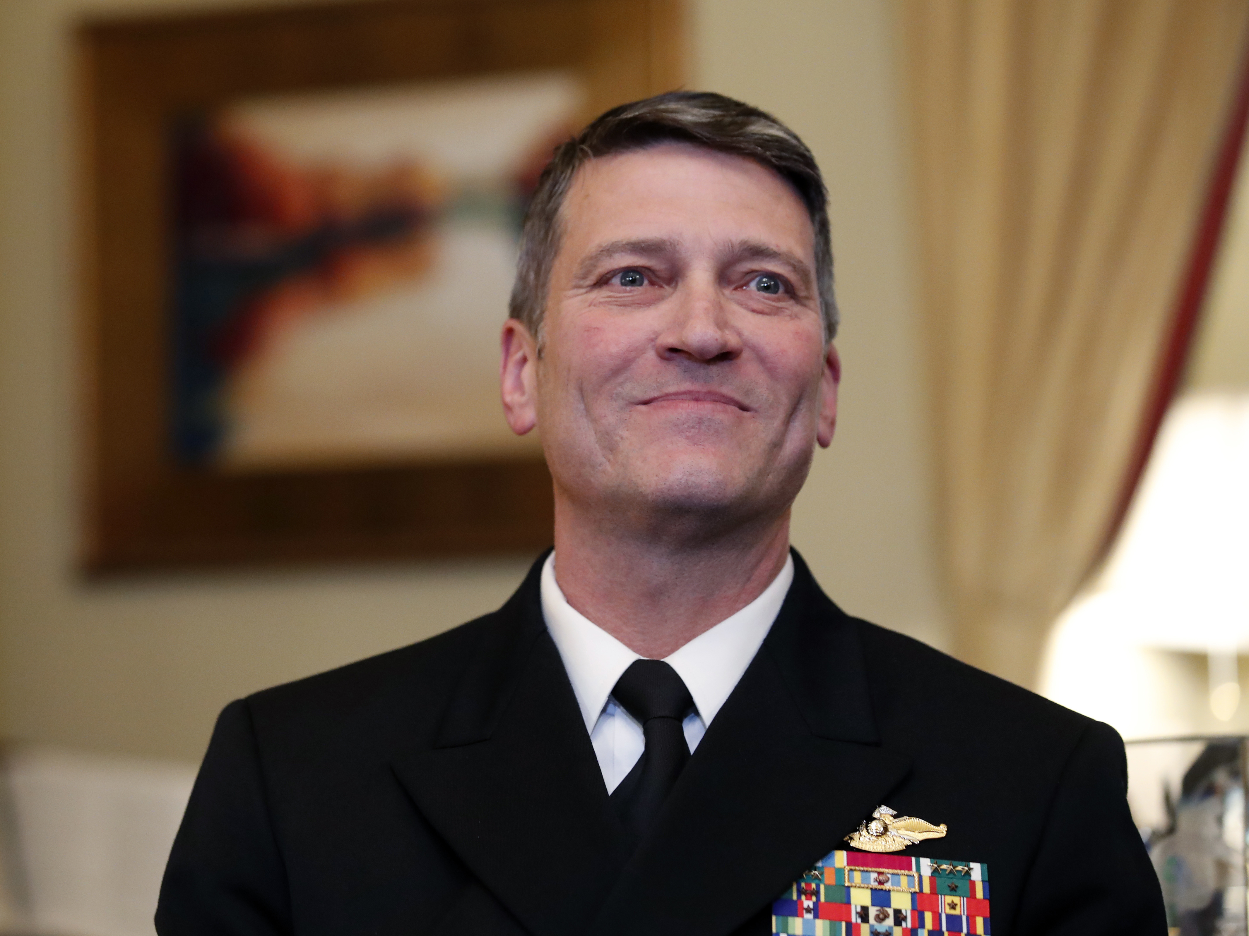 U.S. Navy Rear Adm. Ronny Jackson's nomination appears in jeopardy amid