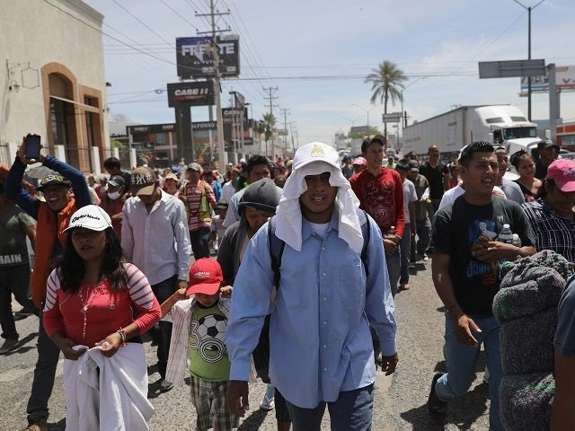 The first groups plan to try to enter the U.S. on Sunday at San Diego's border crossing.