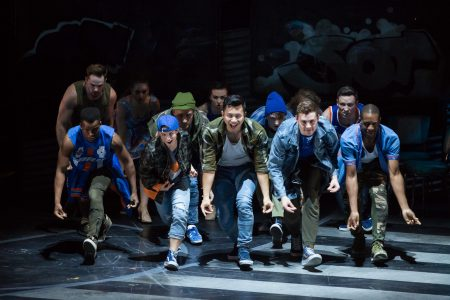 Production photo of Houston Grand Opera's West Side Story.