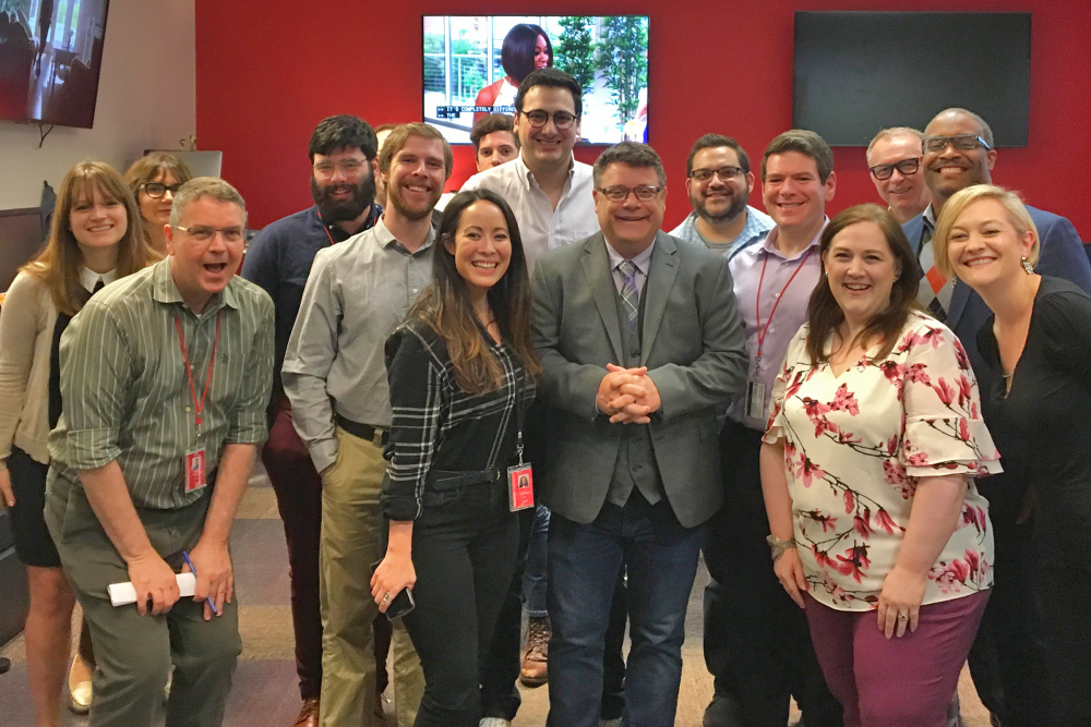 Sean Astin - News 88.7 Staff