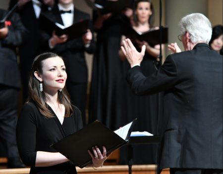 Photo of choir performing