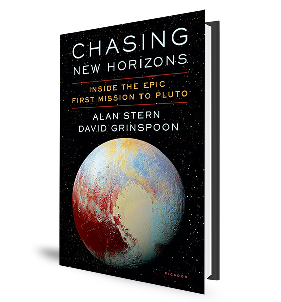 Chasing New Horizons - Book Cover