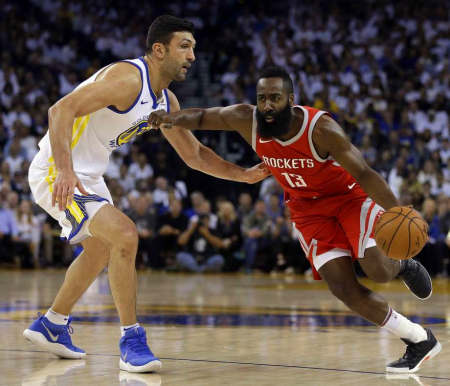 Rockets-Warriors - Ben Margot/AP