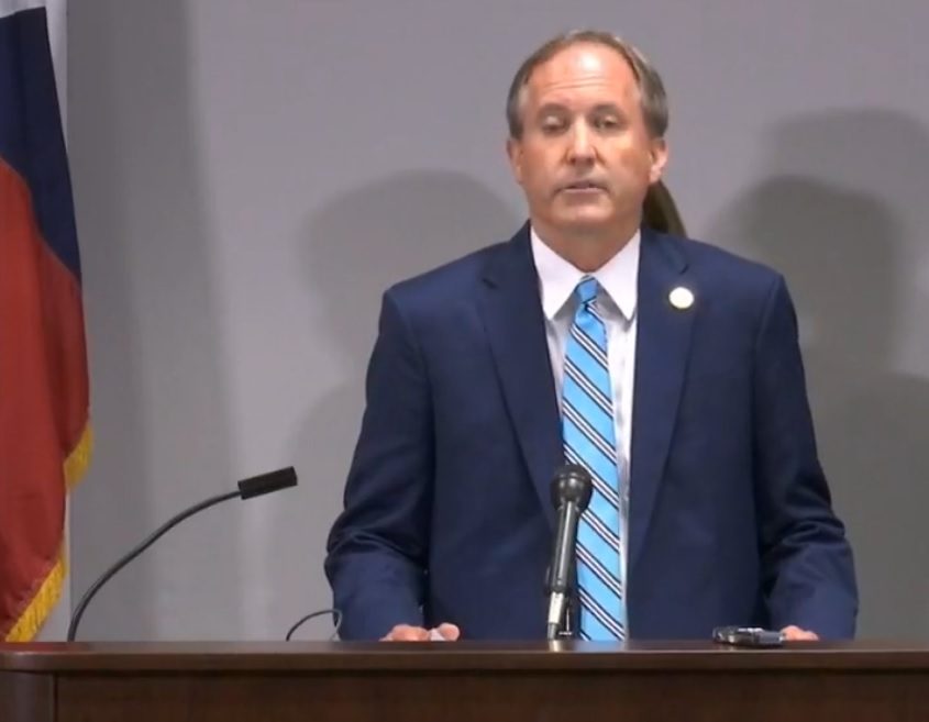 UPDATE: Texas Attorney General Ken Paxton Files Lawsuit Against ...