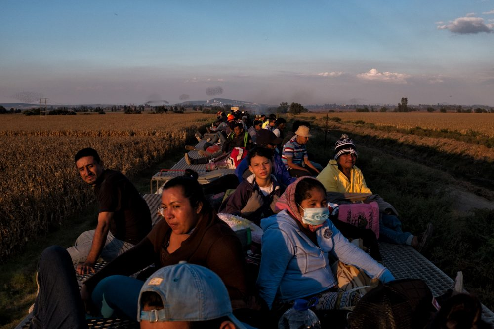 US Asylum Seekers Wait Their Turn On Mexican Border