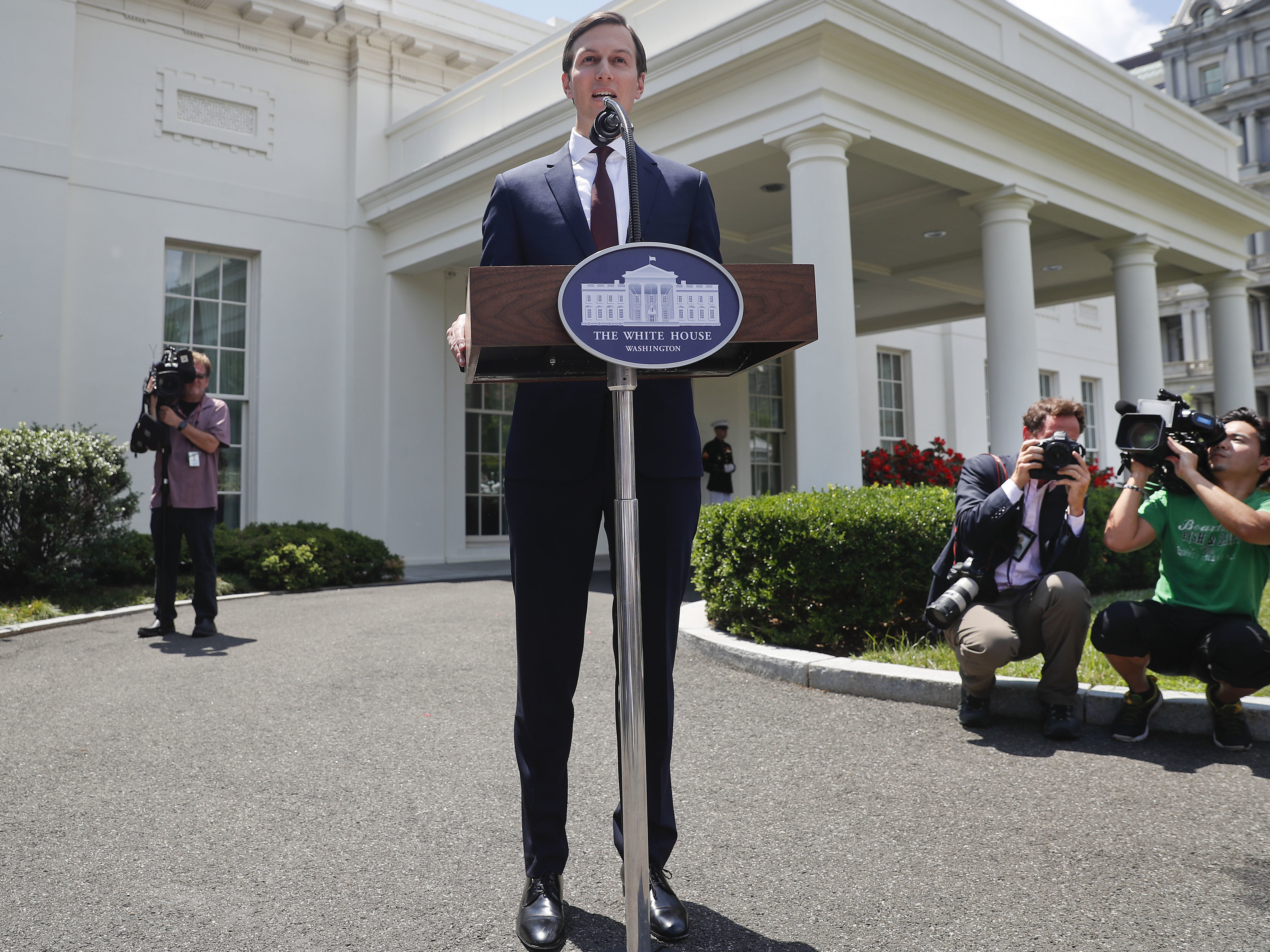 White House senior adviser Jared Kushner denied any wrongdoing in the Russia case last July, and the administration is now restoring his top-level security clearance.