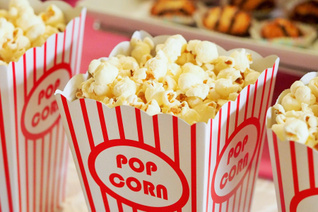Popcorn Movie Theater - Pixabay