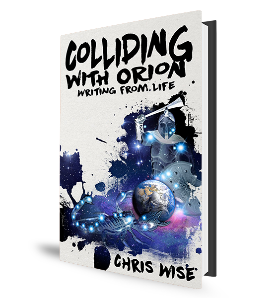 Chris Wise - Colliding with Orion - Book Cover