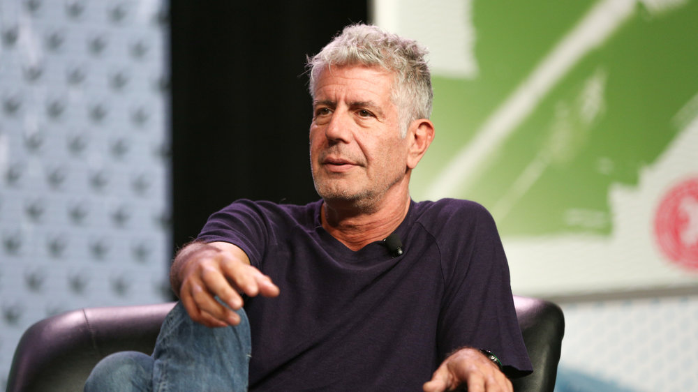 CNN says that chef and TV host Anthony Bourdain has died at age 61. Anthony Bourdain speaks at an event during South By Southwest in 2016 in Austin, Texas.